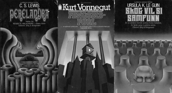 Peter Haars-Norwegian science fiction-Lanterne-psych-1960s-1970s-CS Lewis-Kurt Vonnegut-Ursula K L Guin