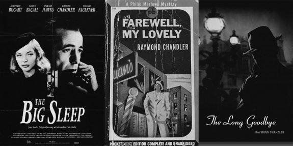 Raymond Chandler-Philip Marlowe-The Big Sleep-Farewell My Lovely-The Long Goodbye