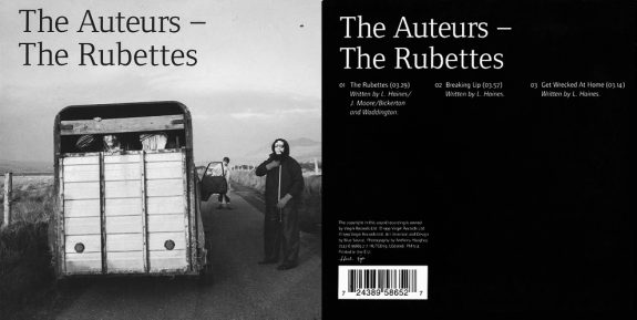 The-Auteurs-The-Rubettes-cover art and insert