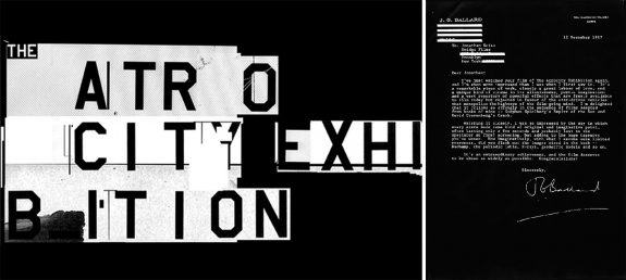 The Atrocity Exhibition-Jonathan Weiss-2000-JG Ballard fax
