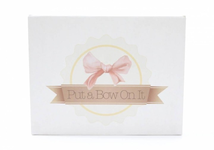 Put A Bow On It May 2016 1