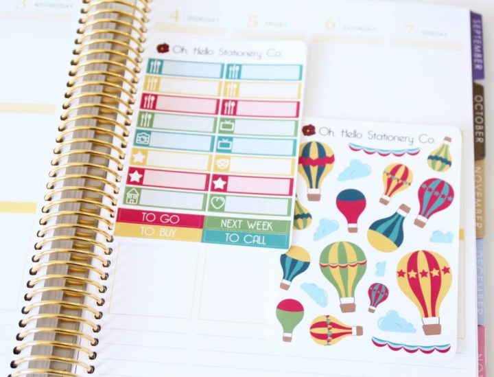 Oh Hello Stationery Co. Review August 2016 9