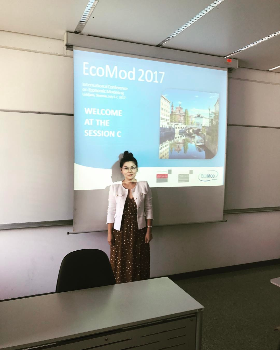 Participation in the International Conference on Economic Modeling (EcoMod2017)