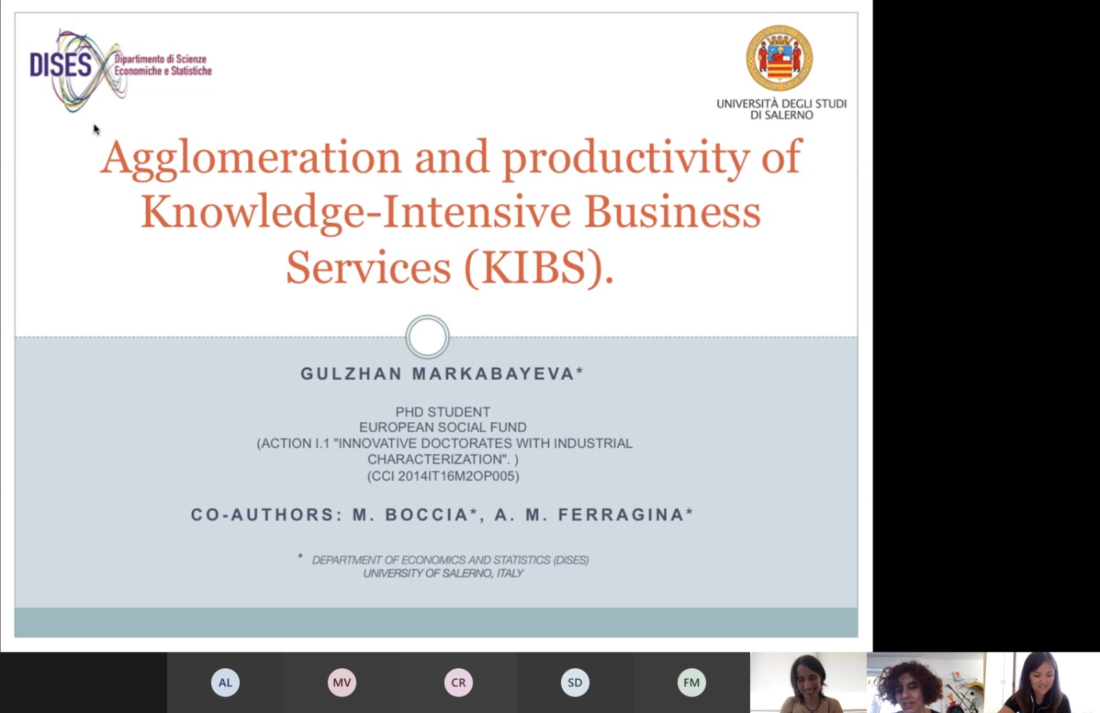 Does agglomeration matters for KIBS's productivity?
