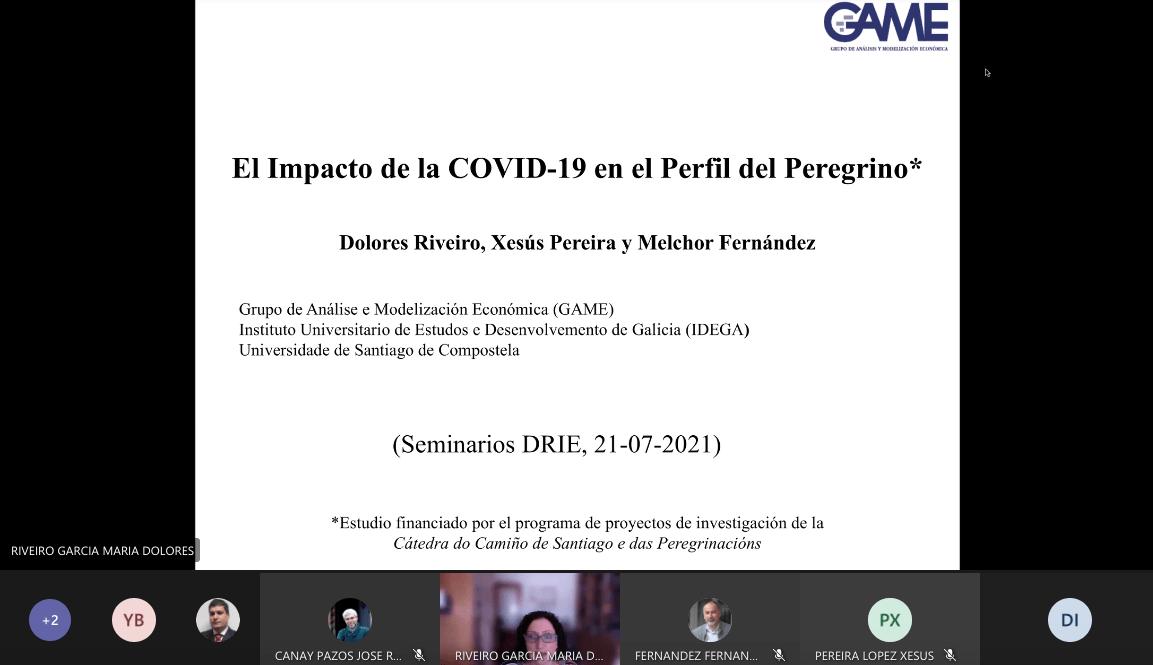 La COVID-19 afecta al perfil de los peregrinos