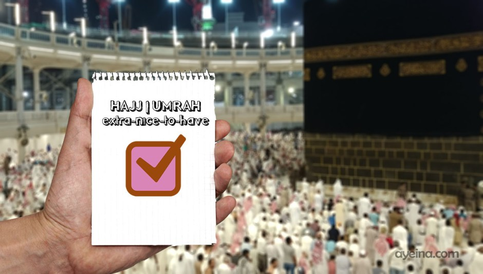 The Ultimate Packing Checklist for Hajj/Umrah: Extra Nice to Have