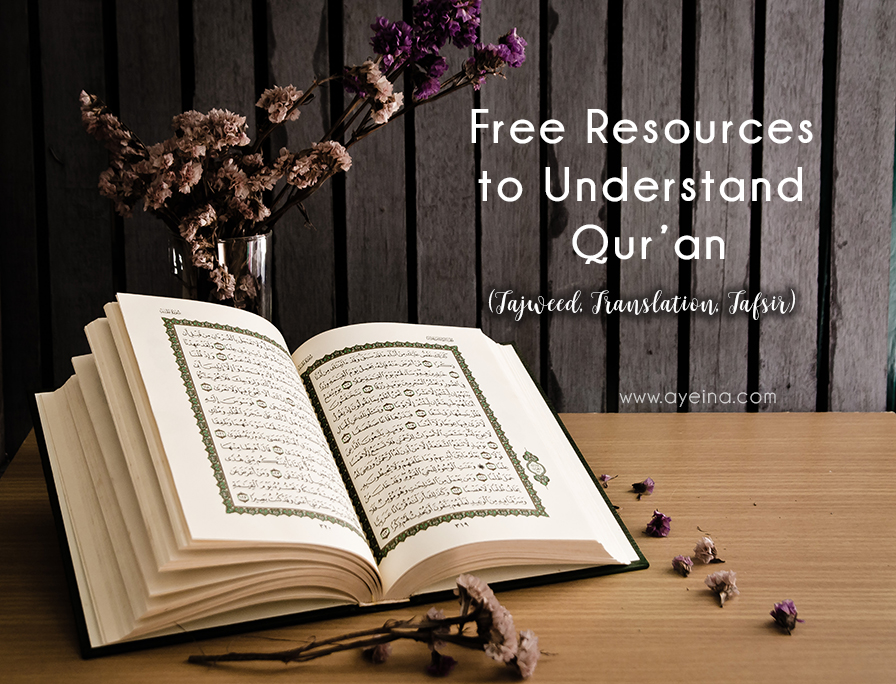 List of Free Resources to Study Quran