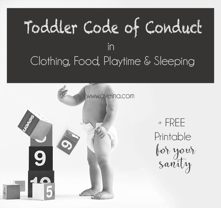 24 Unwritten Rules of Toddler-ingdom