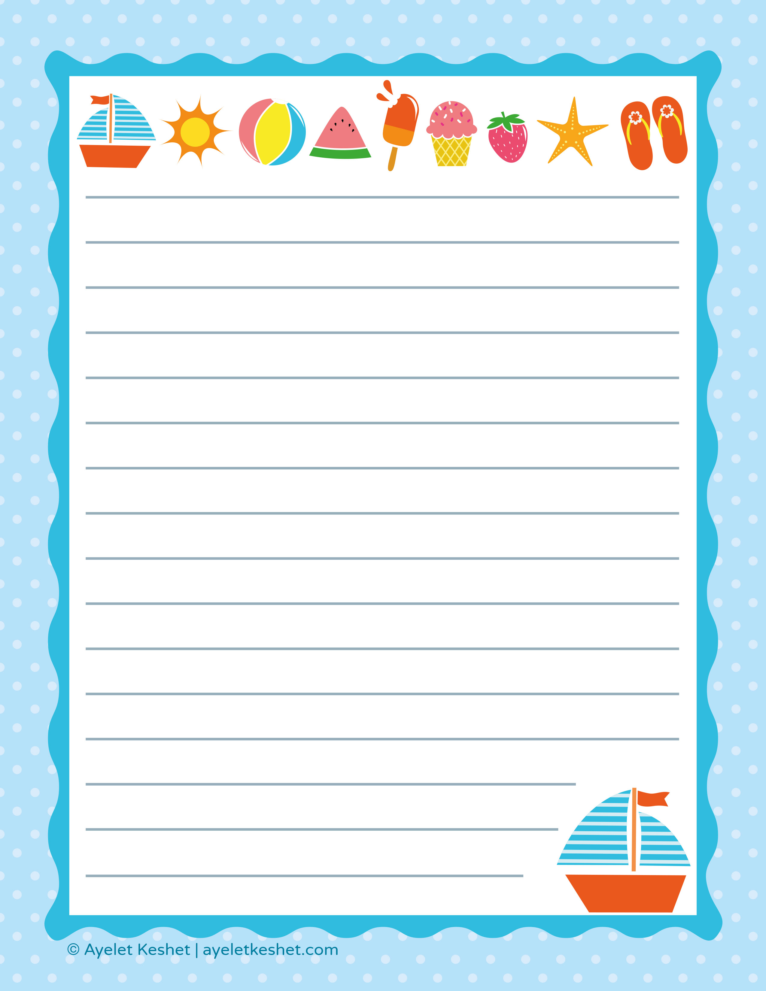 Free Printable Letter Paper