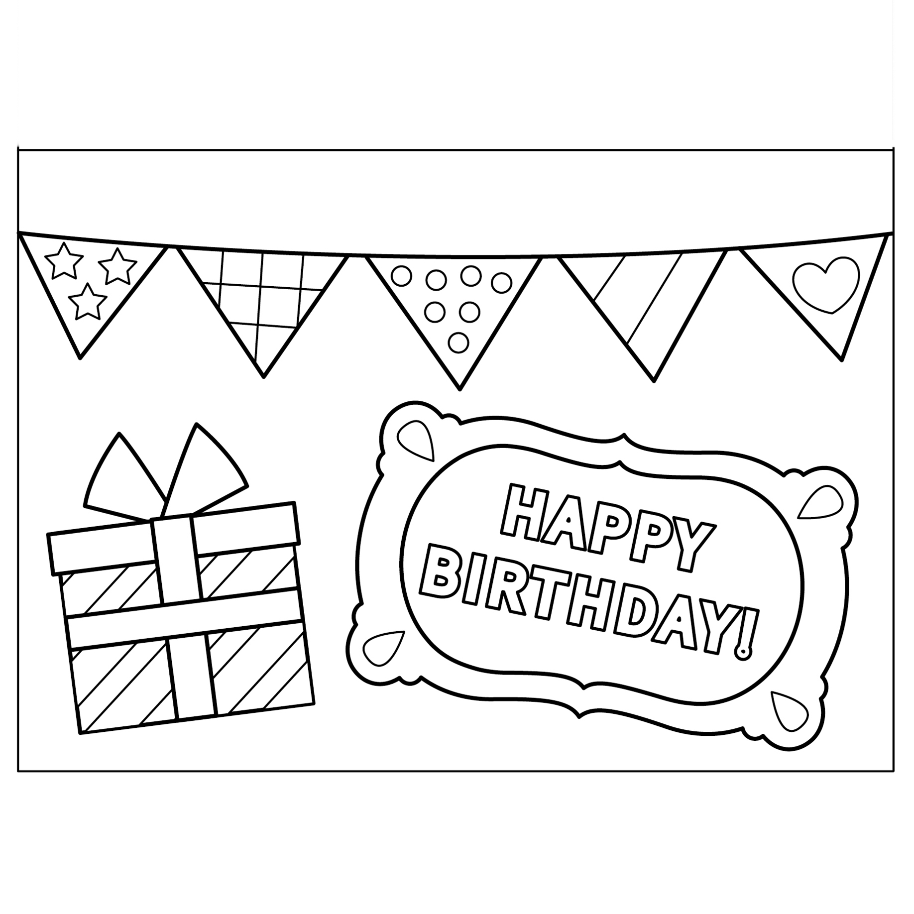 Cute Greeting Cards To Print And Color