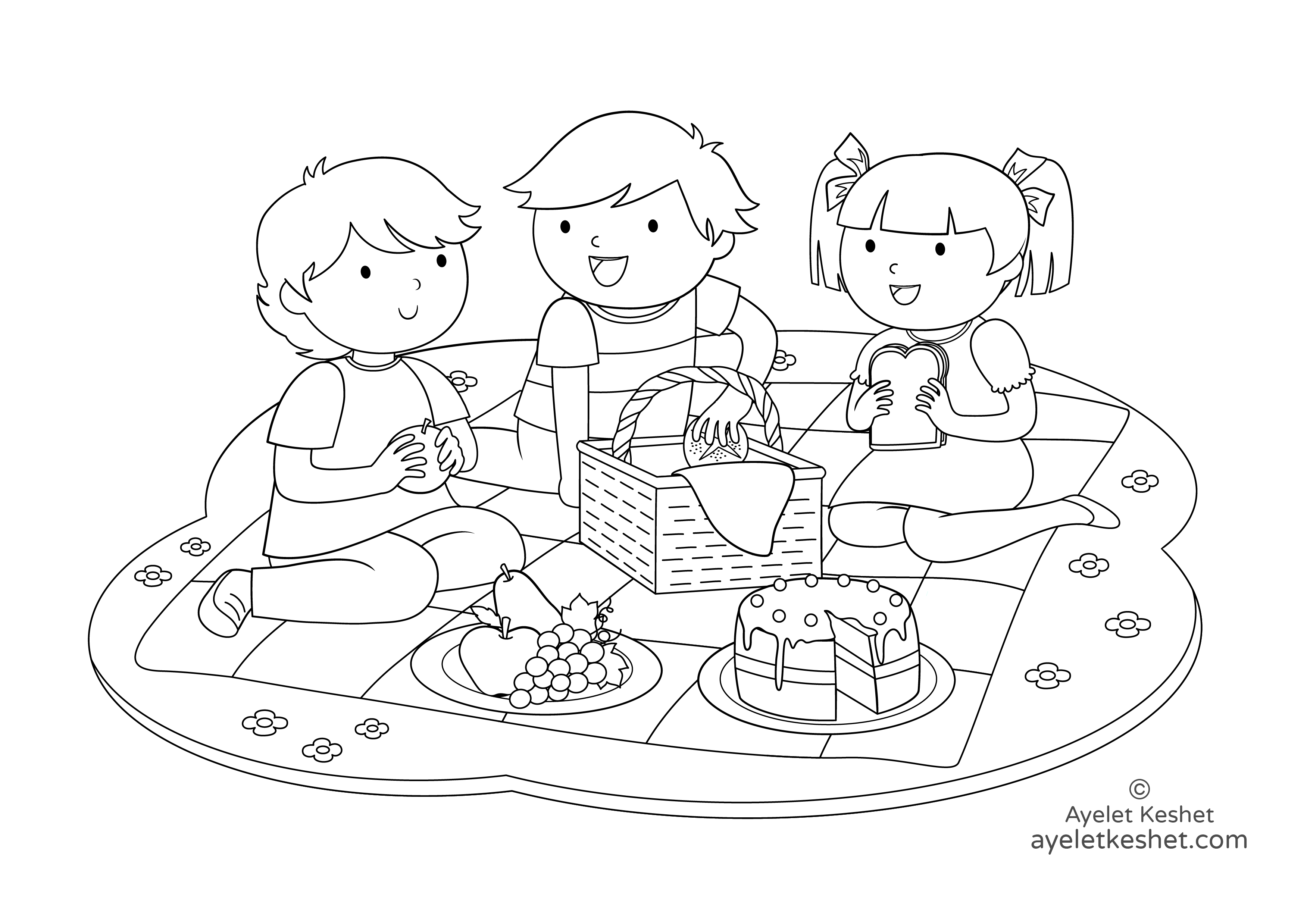 Free Coloring Pages About Friendship