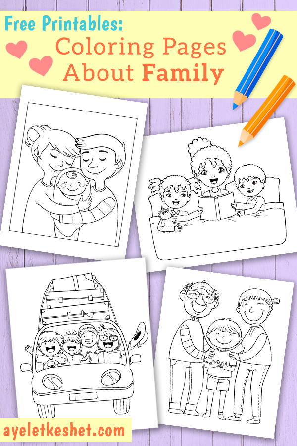 - Free Coloring Pages About Family That You Can Print Out For Your Kids