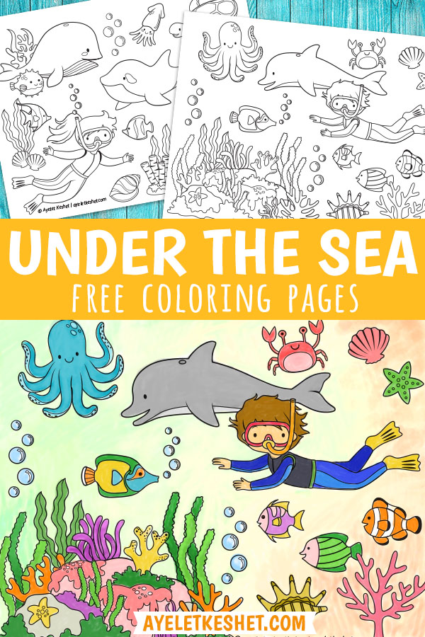 sea life coloring pages free - Google Search | Sea animals ... | 900x600