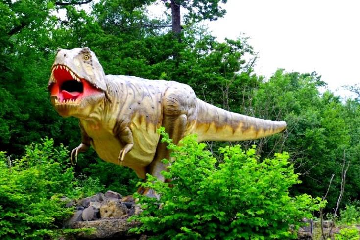 T-rex at Dinosaur Park Echternach