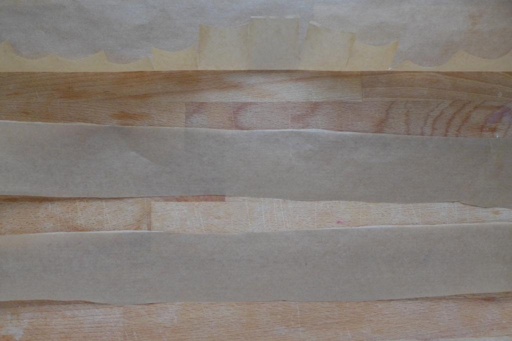 parchement paper straps