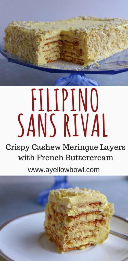 Filipino Sans Rival Recipe