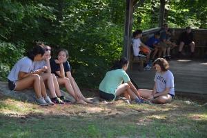 New Hampshire summer camp Merrowvista Voyageur women reflect