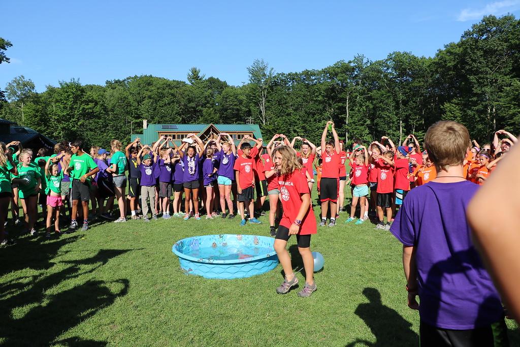 Tribal Cup, Miniwanca, Girls Camp, Co-ed, Michigan, Summer Camp