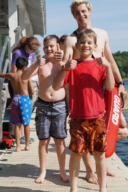 Campers at First Full Day at Stony Lake 2018