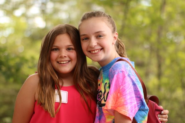 Miniwanca Girl's Camp Campers 2018