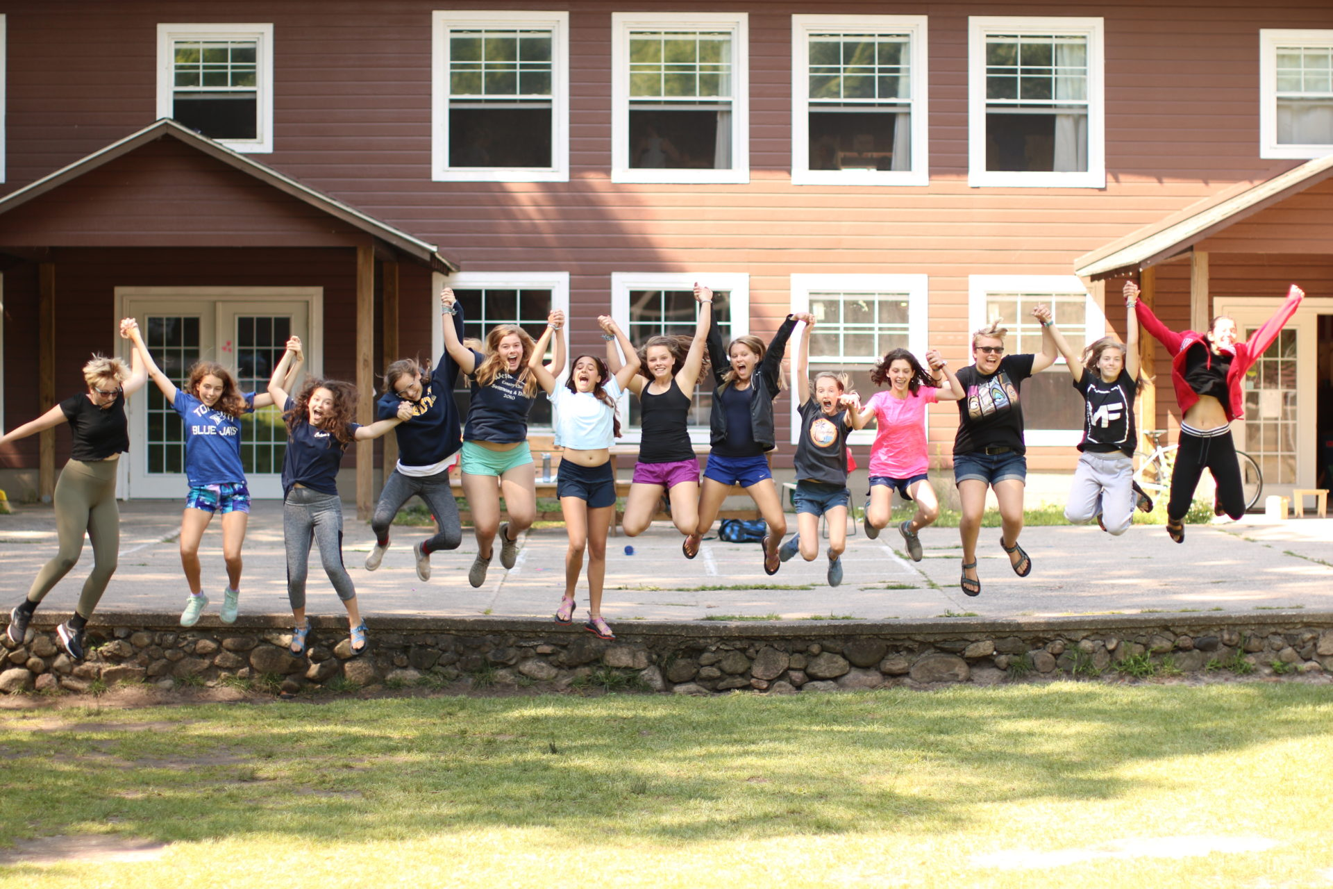 Typical Day at Girls Camp 2018