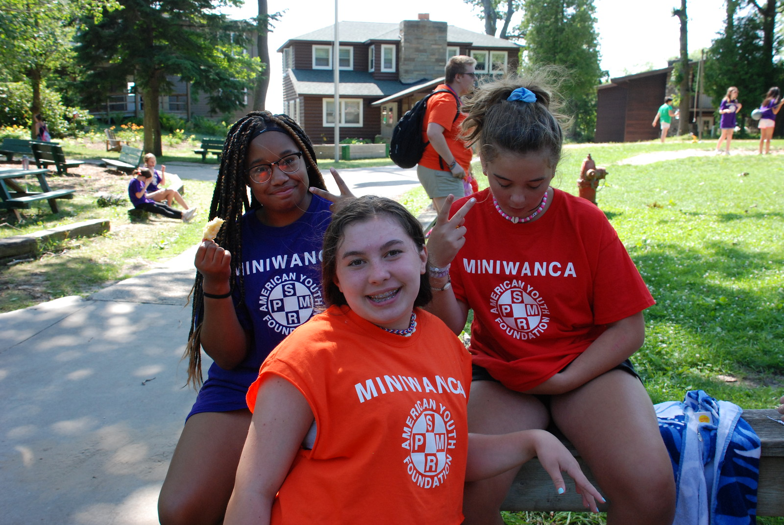 Miniwanca, Girls Camp, Fun Filled, Fun Day