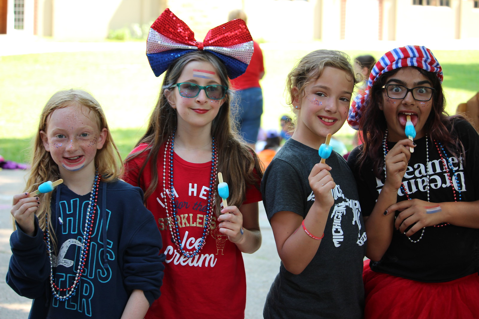 Fourth of July, Miniwanca, Summer Camp, Girls Camp