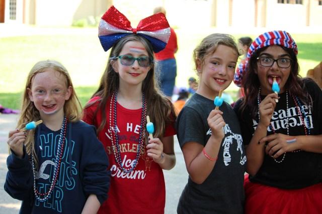 Fourth of July, Miniwanca, Summer Camp, Girls Camp