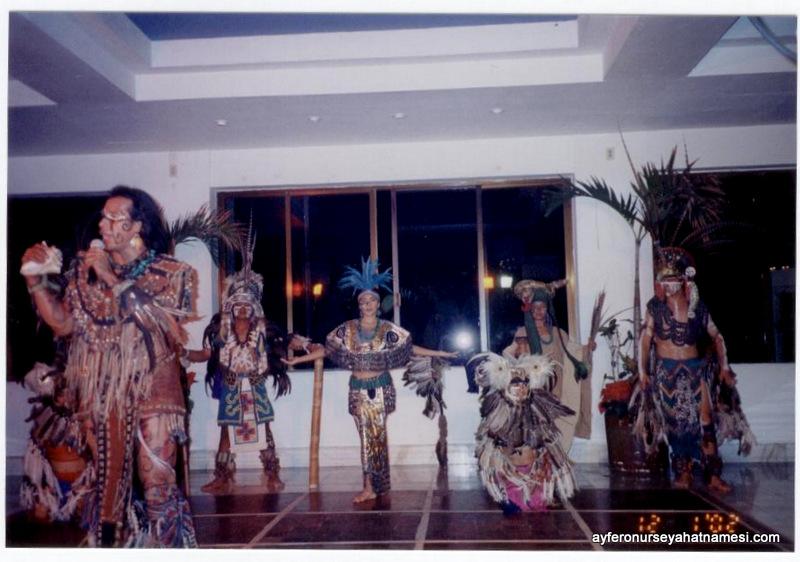 Maya Dans gösterisinden...