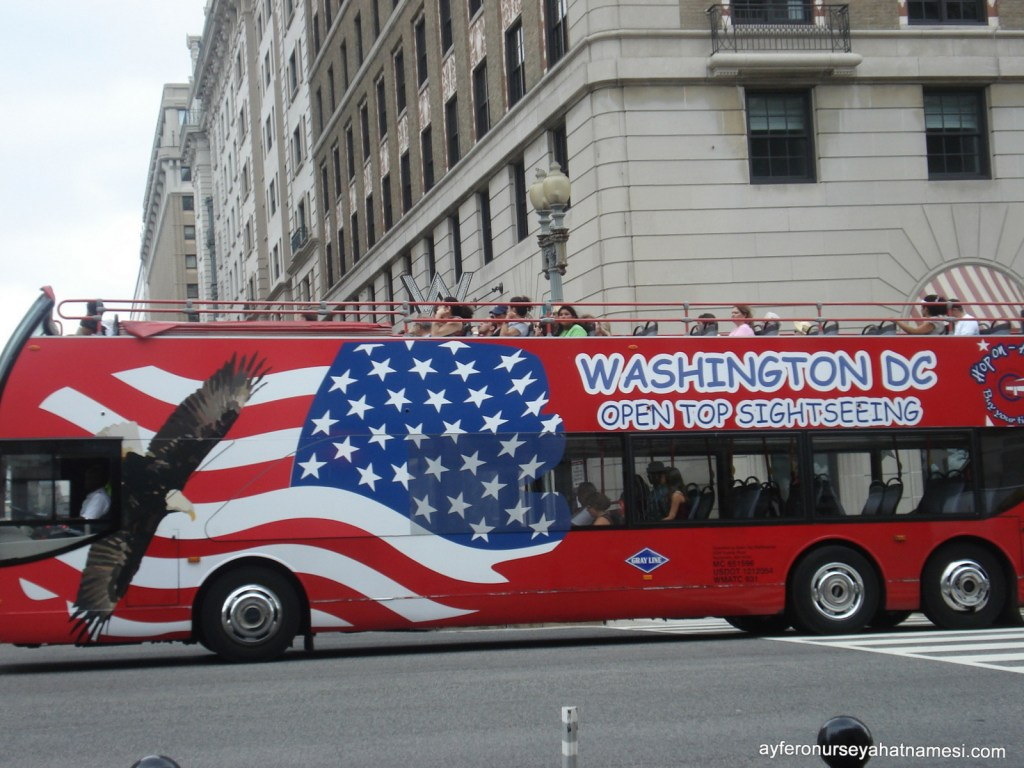 Hop On Hop Off otobüs gezisi