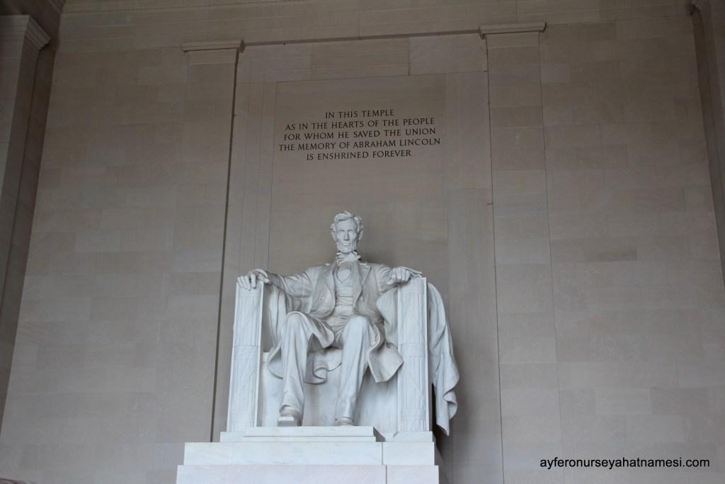 Lincoln Anıtı (The Lincoln Memorial)