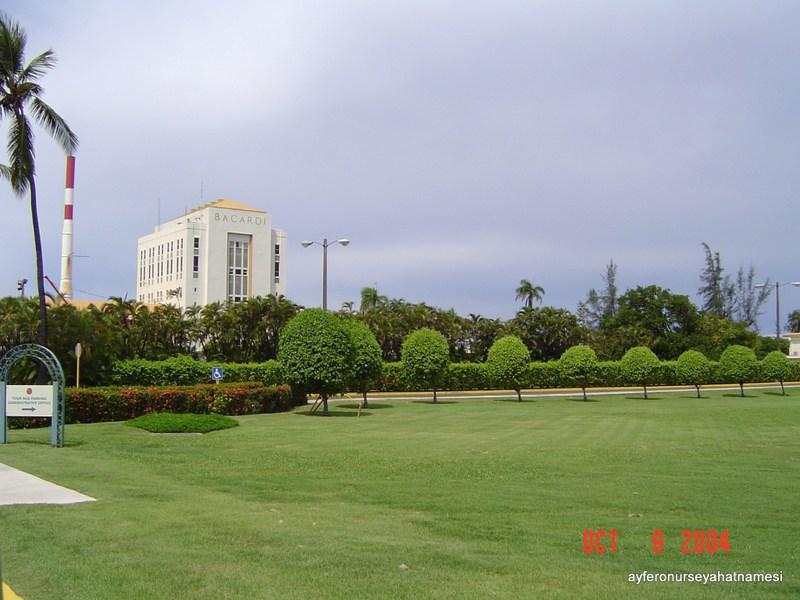Bacardi Rom fabrikası - Porto Riko