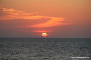 Cartagena Gün Batımı...
