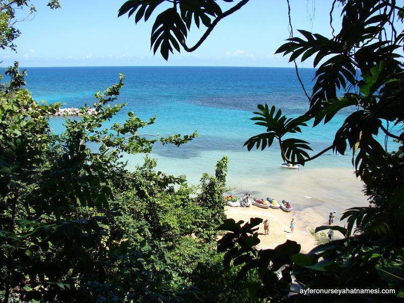 Karayip Denizinin tonları...