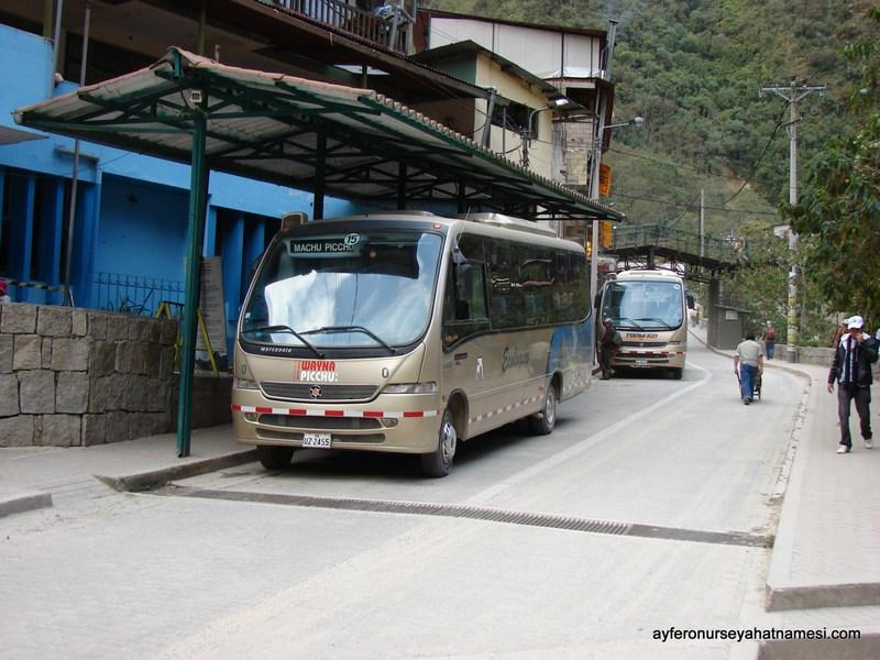 Machu Picchu Otobüsleri
