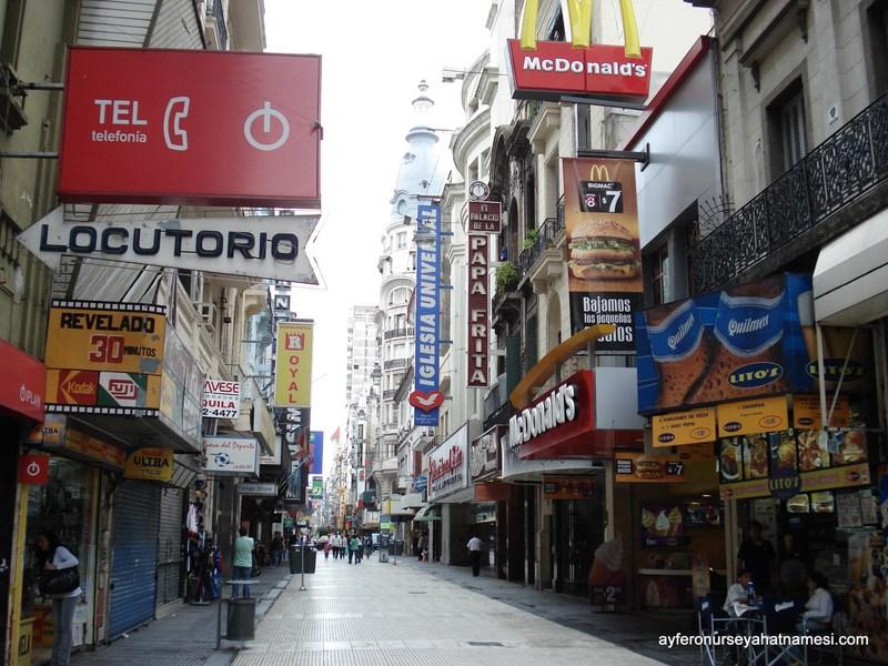 Florida Caddesi - Buenos Aires