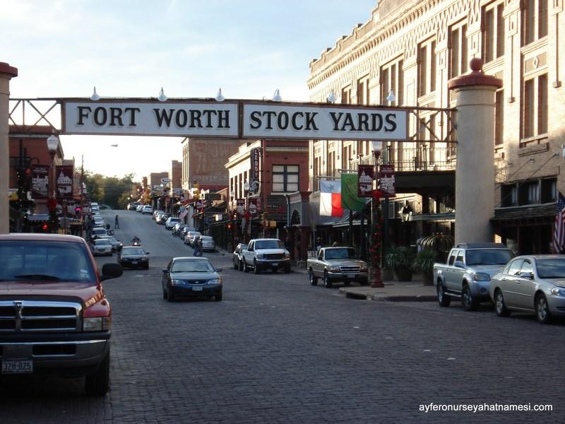Stockyard bölgesi