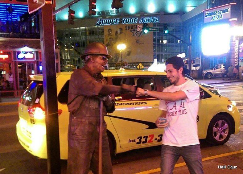 Nashville sokaklarından...