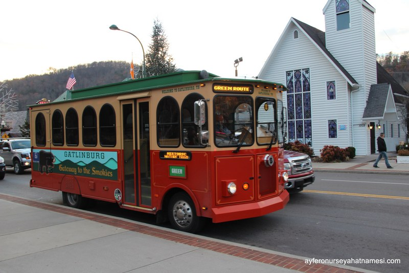 Trolley - Gatlinburg