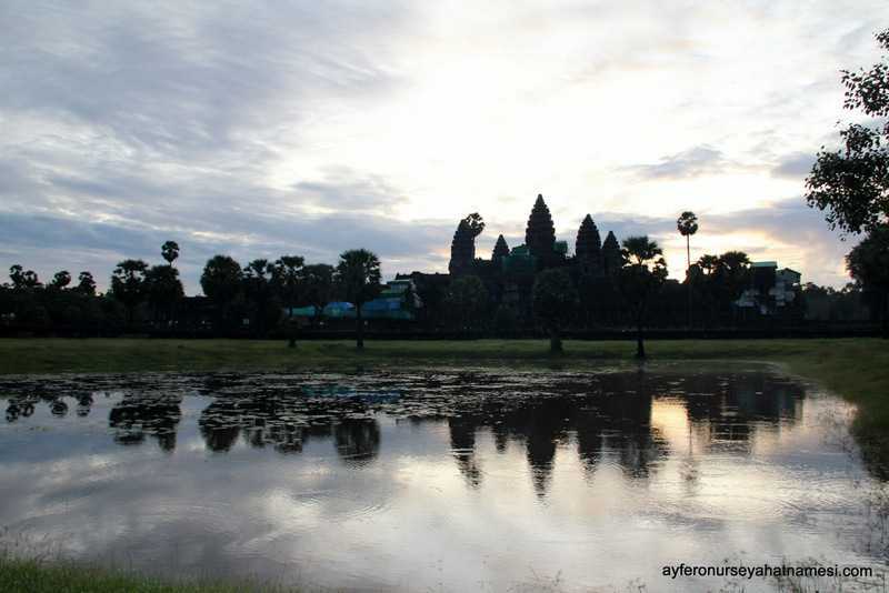 Gün doğumu, Angkor Wat - Siem Reap