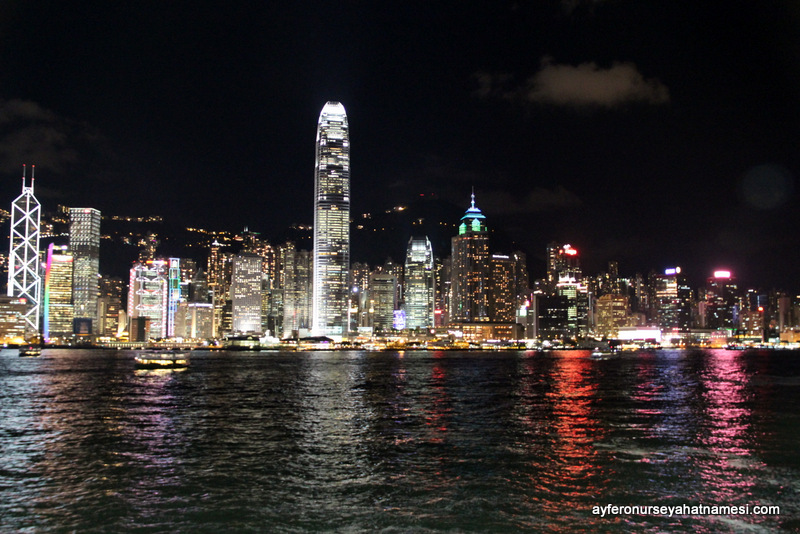 Kowloon Liman Bölgesinden...