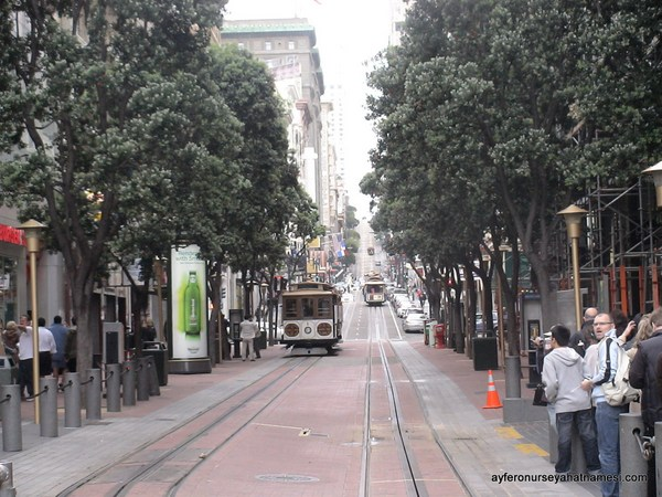 Cable car (Tramway) ve yolu...