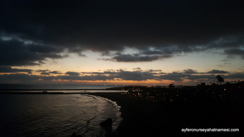 Sunset at Corona Del Mar
