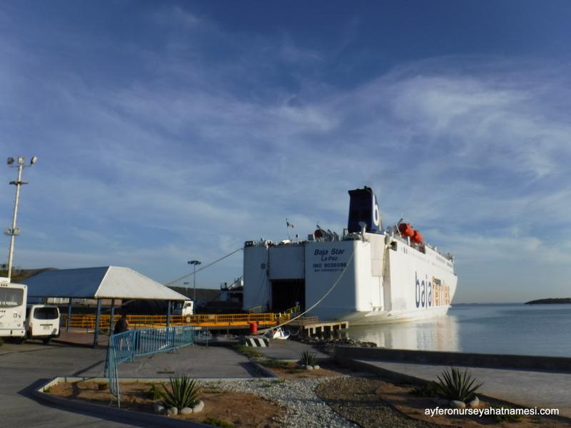 Baja Ferry to Mazatlan