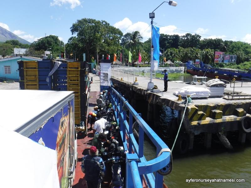 Nikaragua tekne geçişi