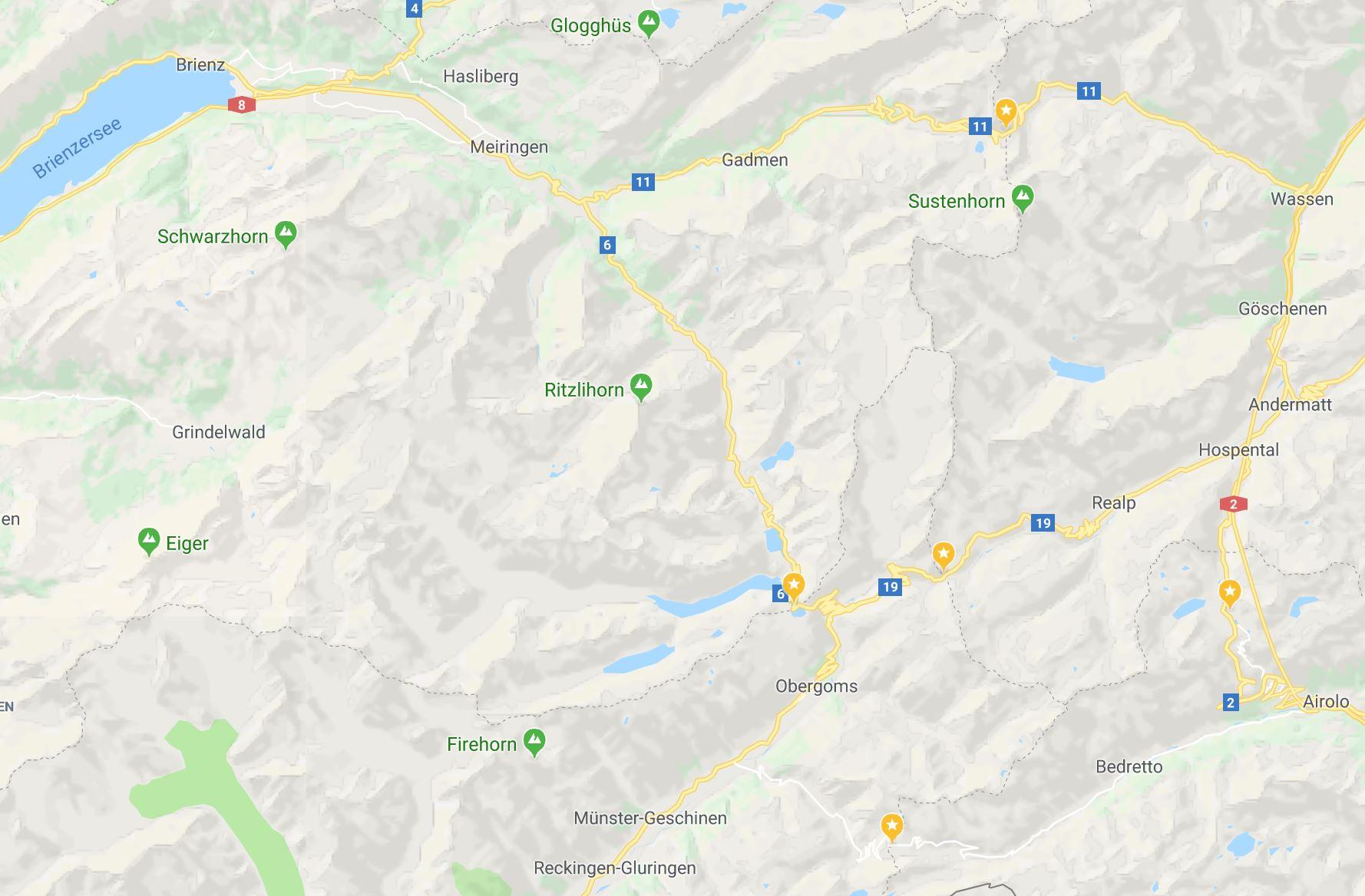 İsviçre Alp Geçitleri