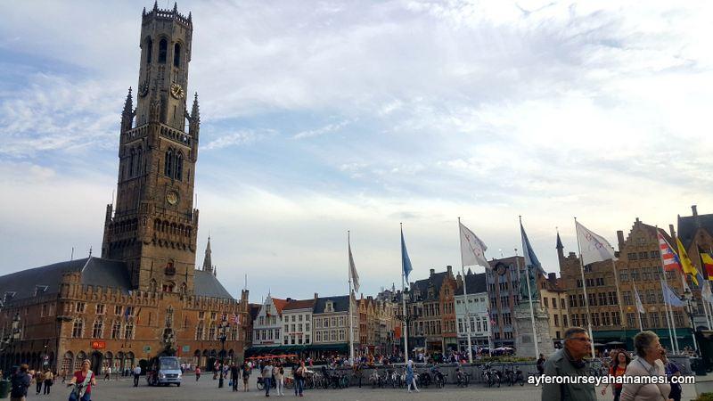 Çan Kulesi (Belfry of Bruges)