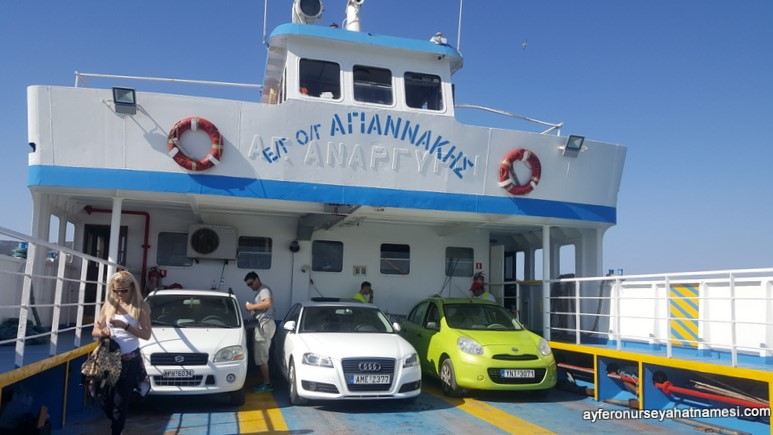 Elafonisos Adası - Yunanistan