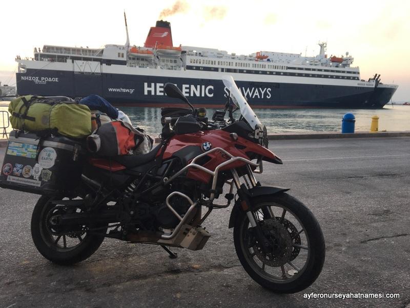 Hellenic Seaways - Pire Limanı