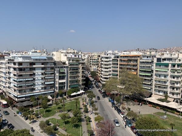 Selanik manzarası